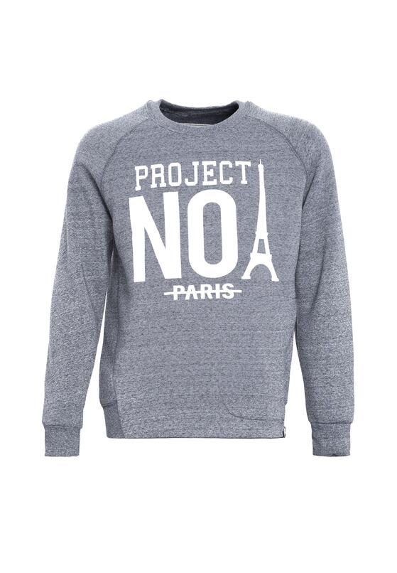 Szara Bluza No Project