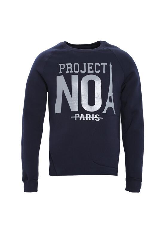 Granatowa Bluza No Project