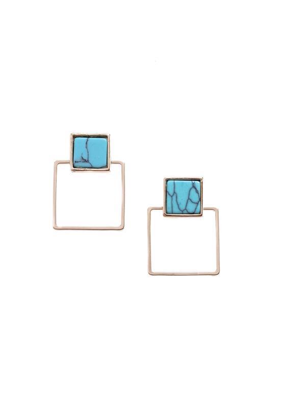 Niebieskie Kolczyki Imaginative
