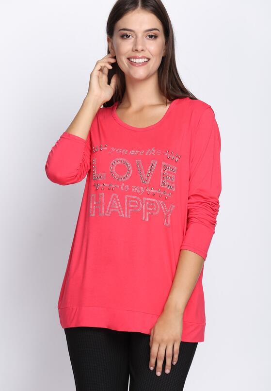 Różowa Bluzka Feel Love