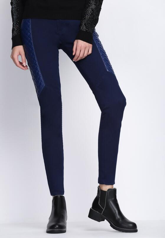 Granatowe Spodnie Best Parts