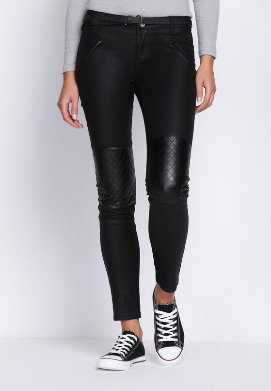 Czarne Spodnie Not Giving Up
