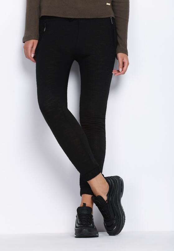 Czarne Spodnie Dresowe Homecoming