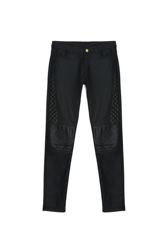 Czarne Spodnie Best Chance