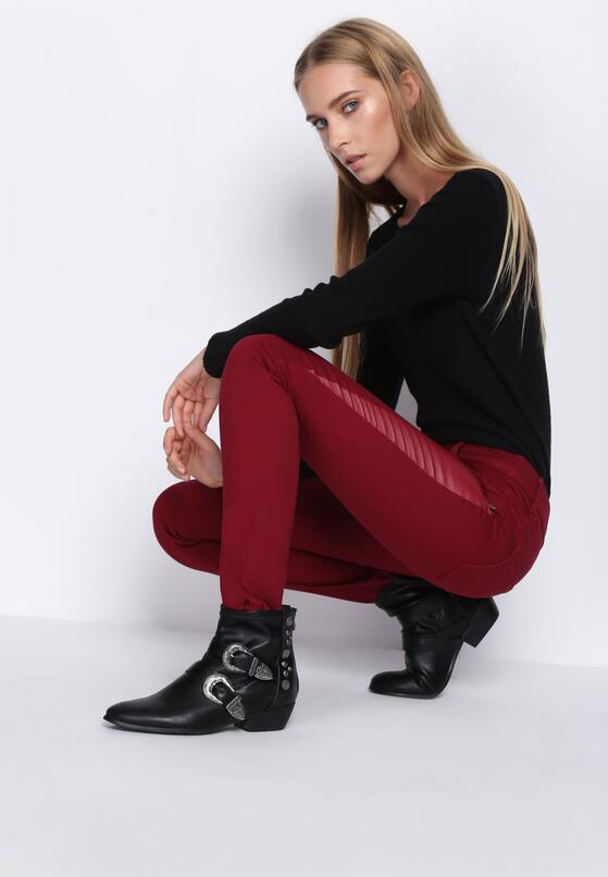 Bordowe Spodnie Want Some More