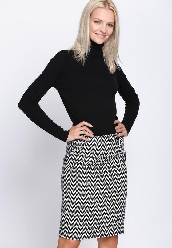 Czarno-Biała Spódnica Perfect Harmony