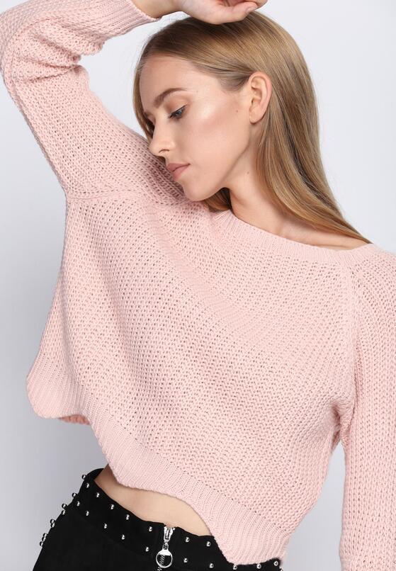 Różowy Sweter Missing In Me