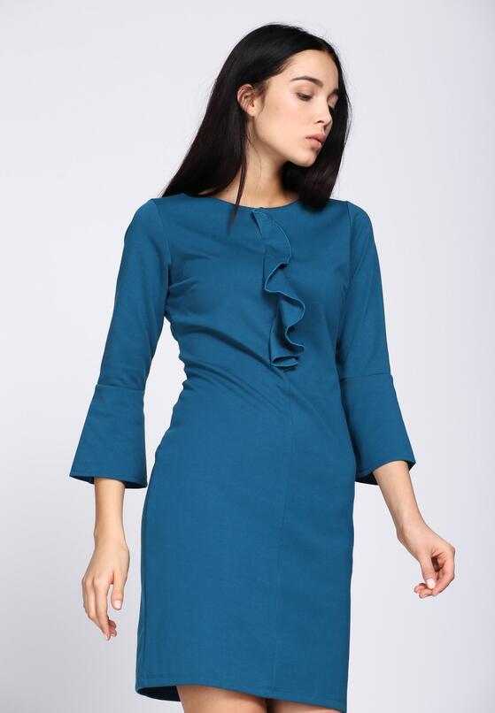 Ciemnoniebieska Sukienka Phenomenally