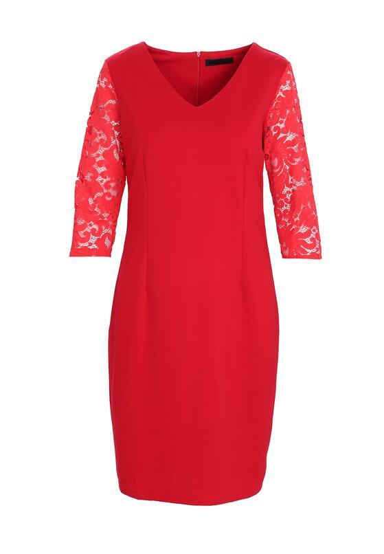 Czerwona Sukienka For My Heart