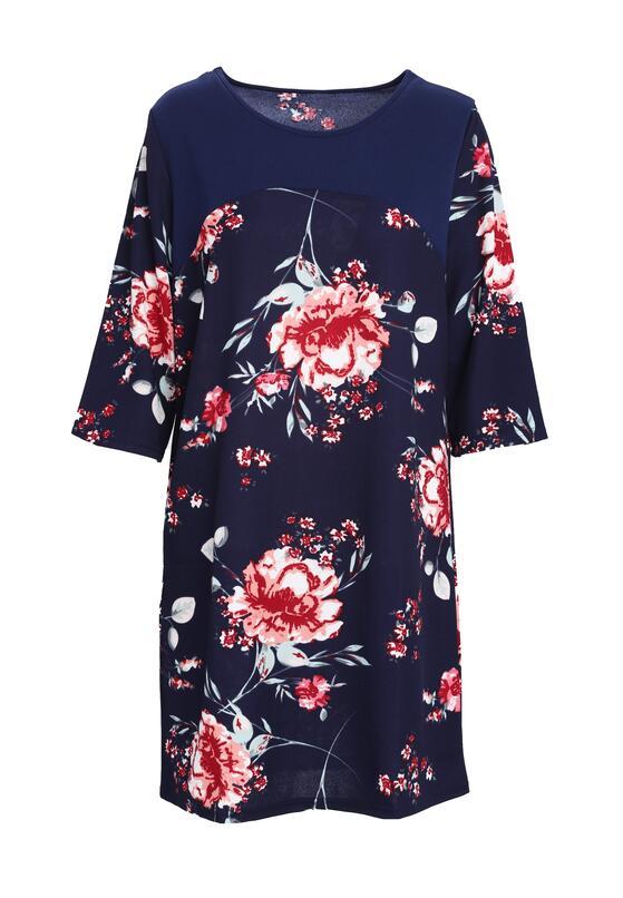 Granatowa Sukienka Out Of Sight