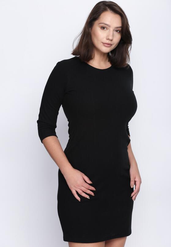 Czarna Sukienka Nobody's Perfect