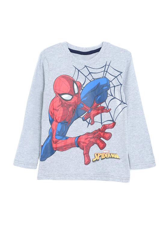 Jasnoszara Koszulka Spider's State