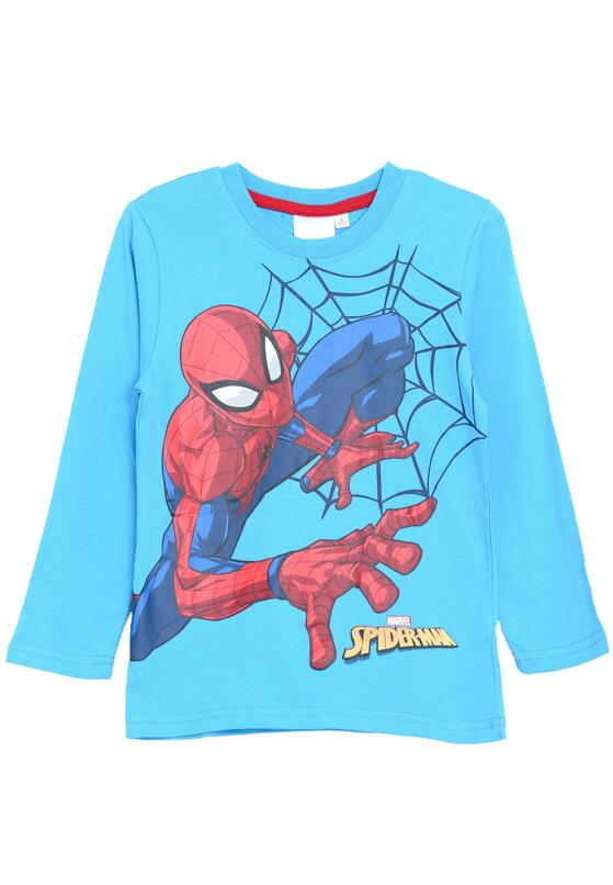 Niebieska Koszulka Spider's State