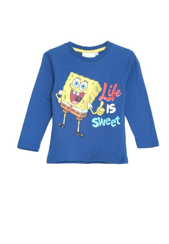 Ciemnoniebieska Koszulka Cool Man