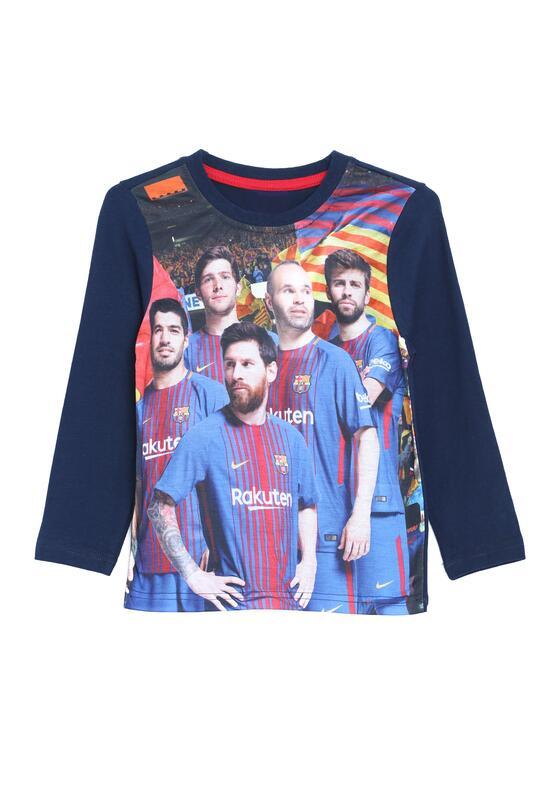 Granatowa Koszulka Football