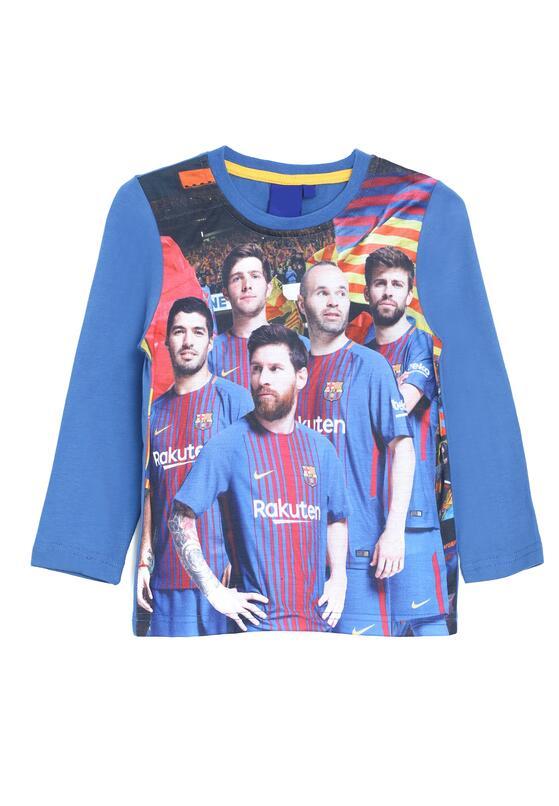 Ciemnoniebieska Koszulka Football