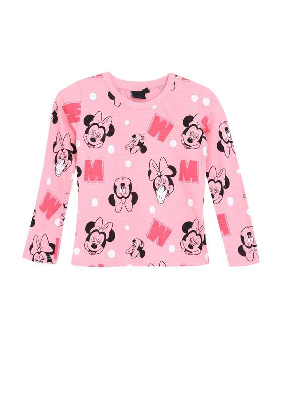 Różowa Bluzka Lightly