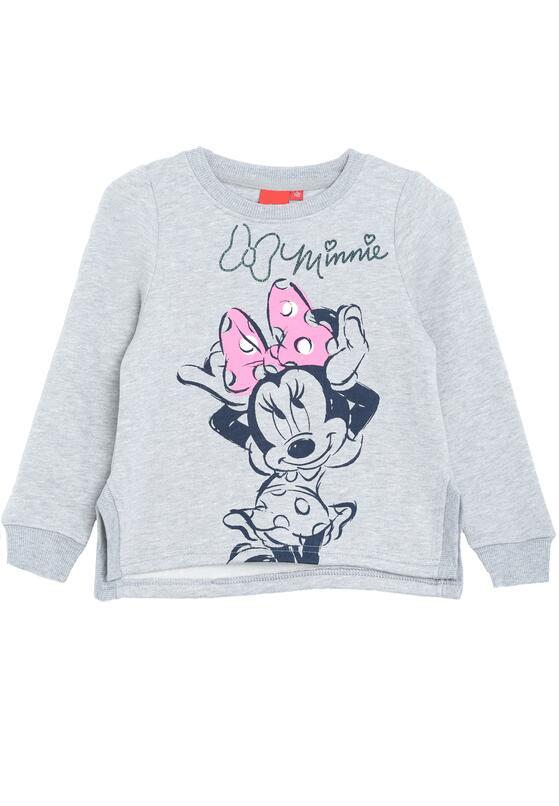 Jasnoszara Bluza Little Mouse