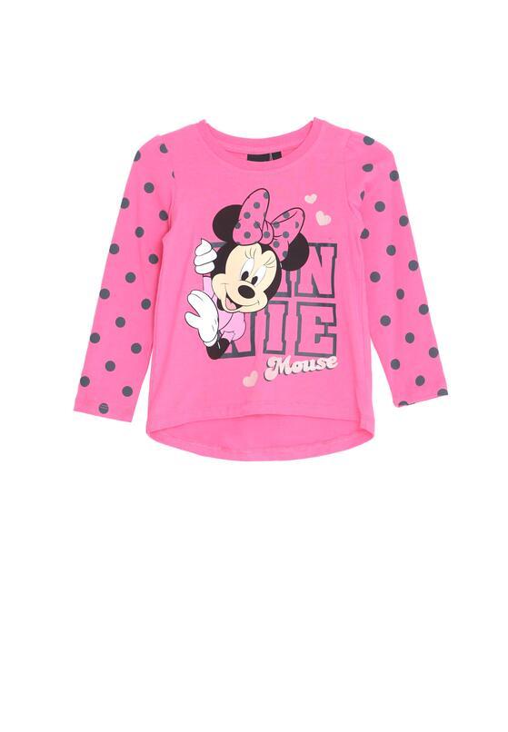 Fuksjowa Koszulka Pink Girl