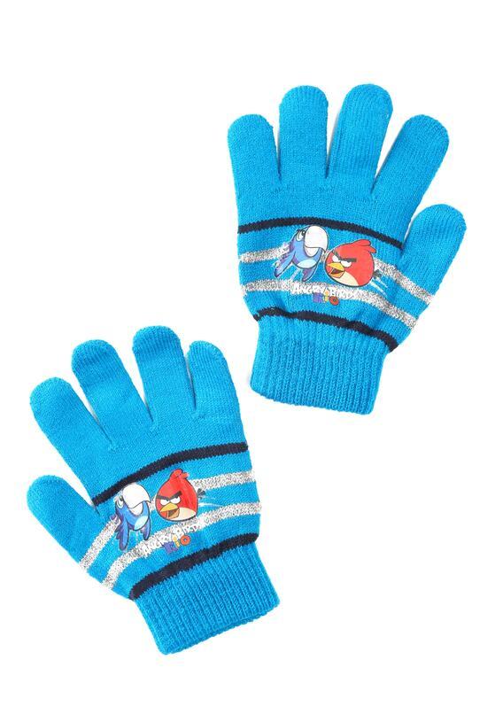 Granatowe Rękawiczki Amusing