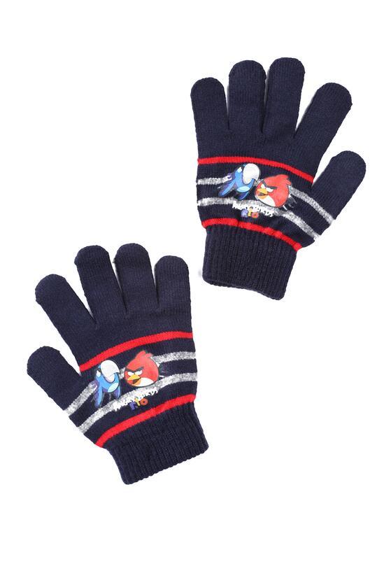 Ciemnoniebieskie  Rękawiczki Amusing