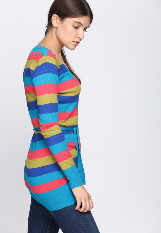 Niebieski Sweter Miracles