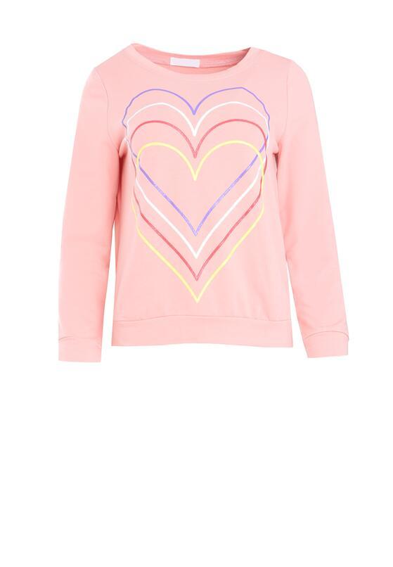 Różowa Bluza Just Flexing