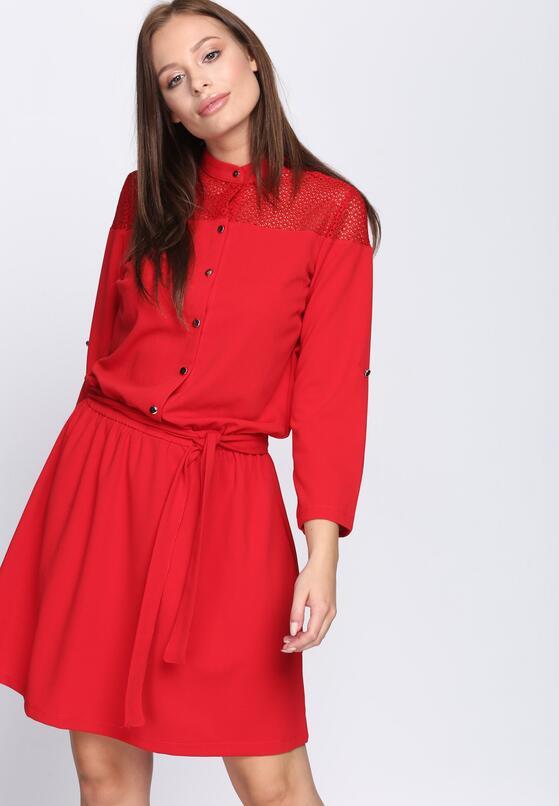 Czerwona Sukienka Right In