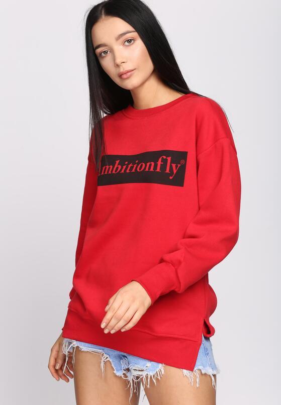 Czerwona Bluza You Can Fly