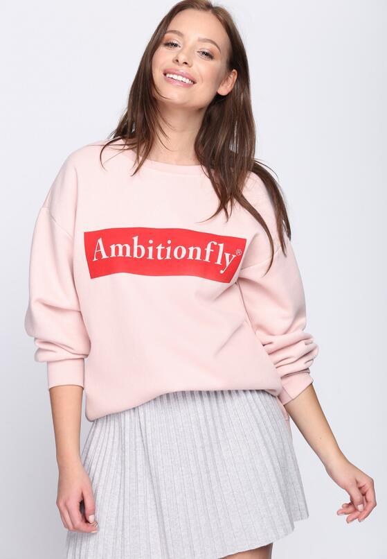 Różowa Bluza You Can Fly