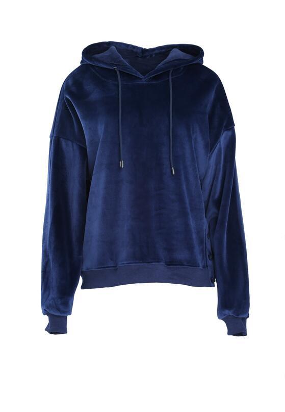 Granatowa Bluza Like Basic