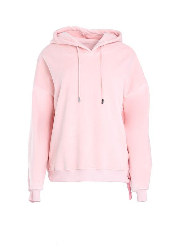 Różowa Bluza Like Basic