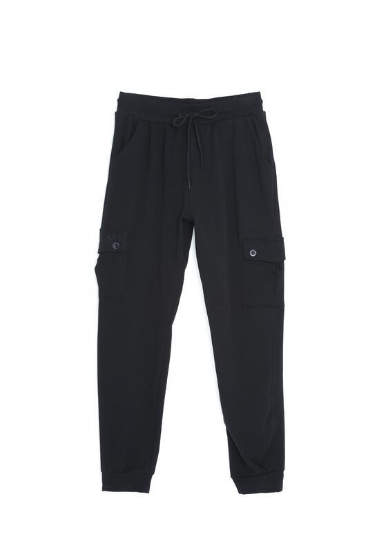 Czarne Spodnie Work It Now