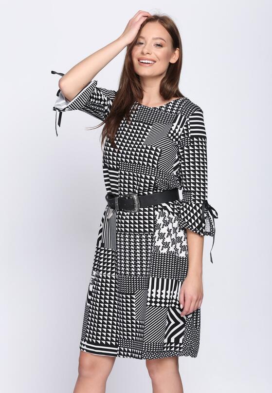 Czarna Sukienka Geometry