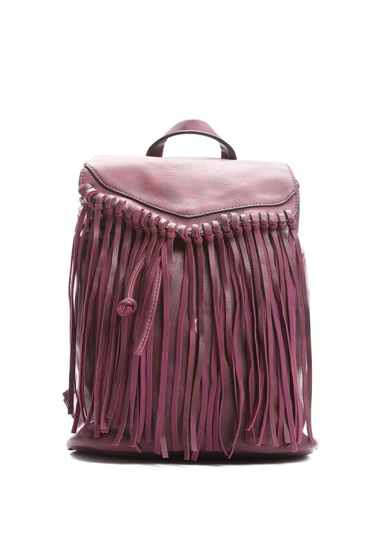 Bordowy Plecak Aching Love