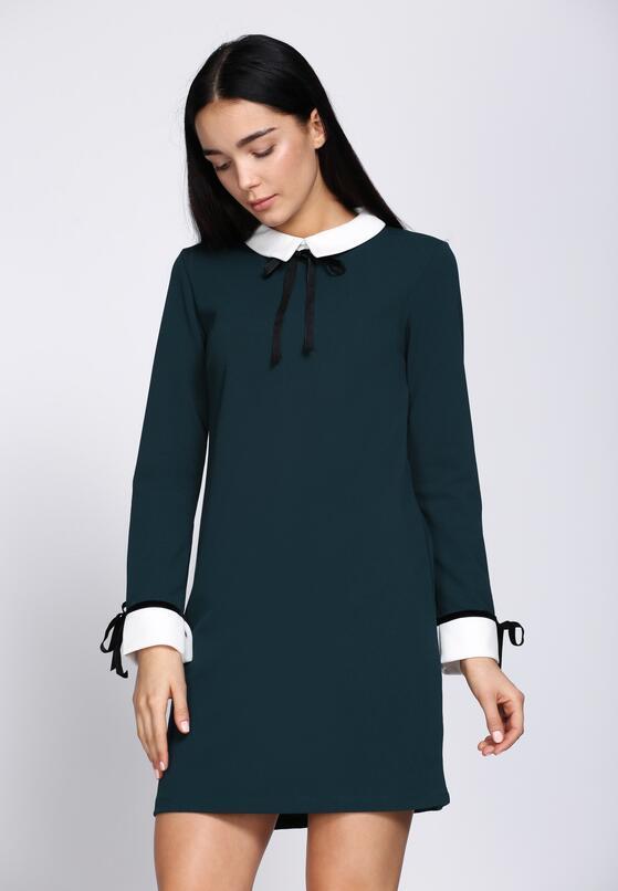 Ciemnozielona Sukienka Too Original