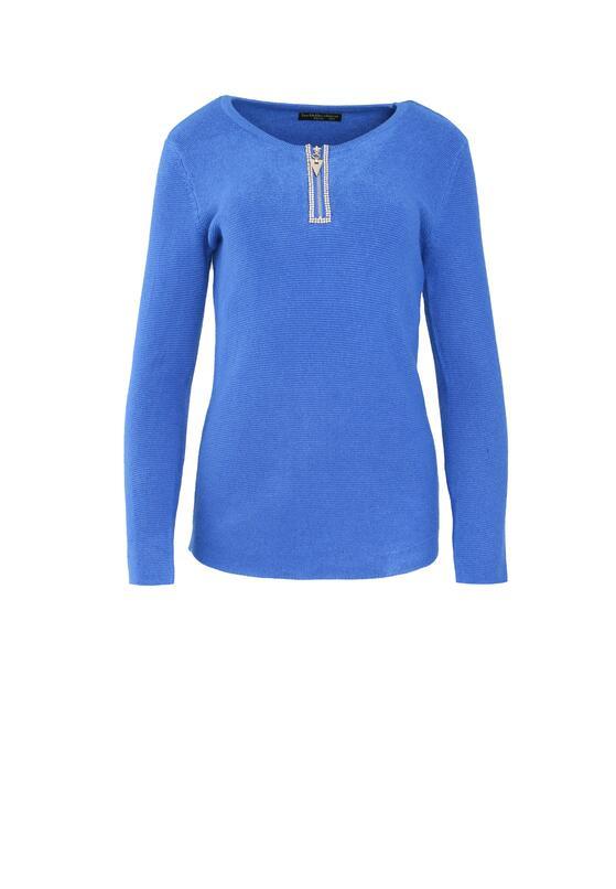 Niebieski Sweter Lust