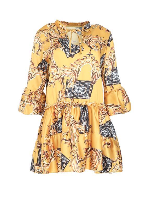 Żółta Sukienka Cachaca
