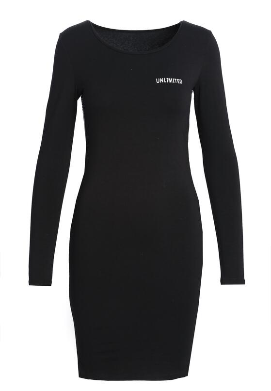 Czarna Sukienka Apathy