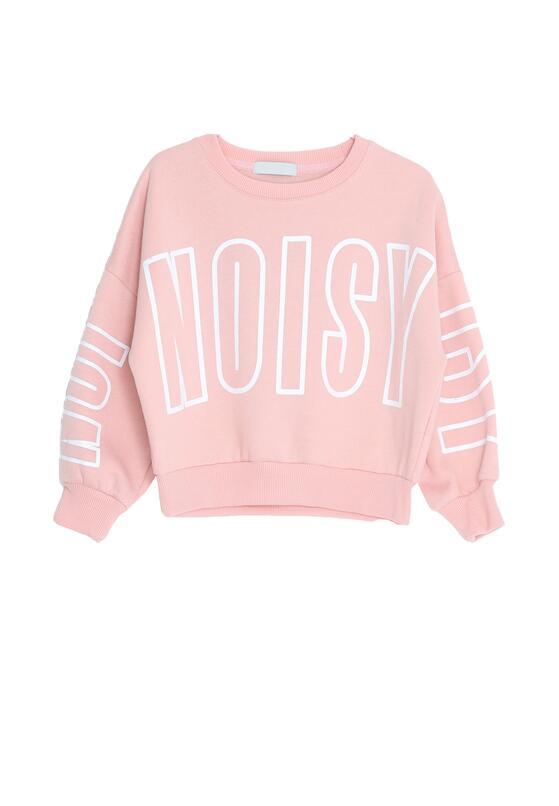 Jasnoróżowa Bluza Noisy