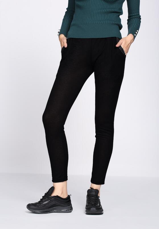 Czarne Spodnie Dresowe Tranquility