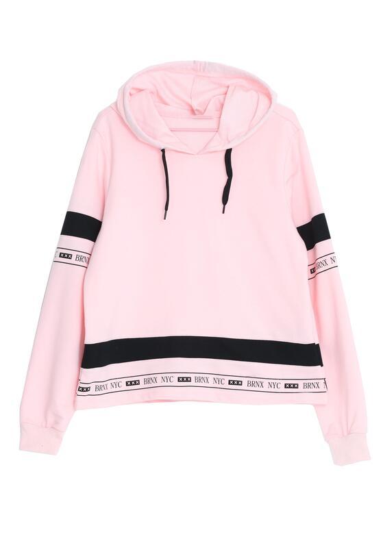 Różowa Bluza Purify