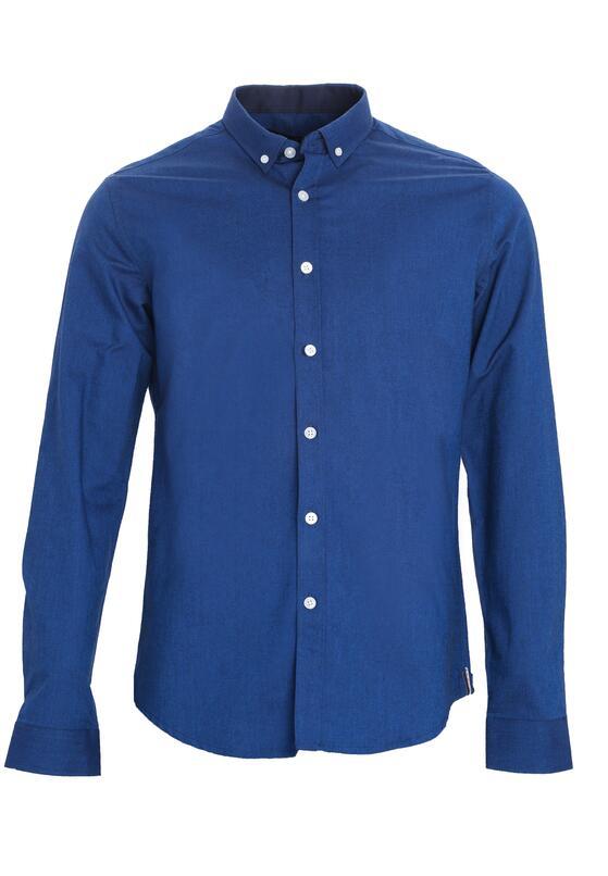 Ciemnoniebieska Koszula Fixed