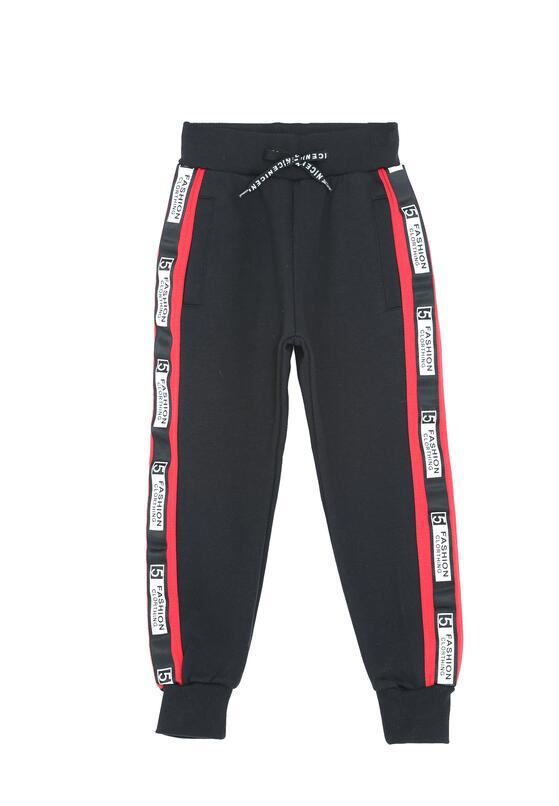 Czarne Spodnie Dresowe Heated