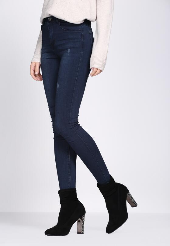 Niebieskie Jeansy Diversification