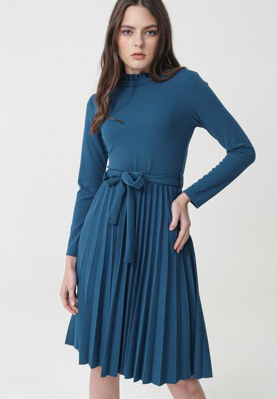Ciemnoniebieska Sukienka Forever
