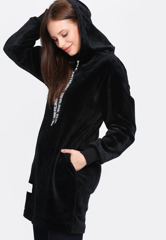 Czarna Bluza Fluorescent