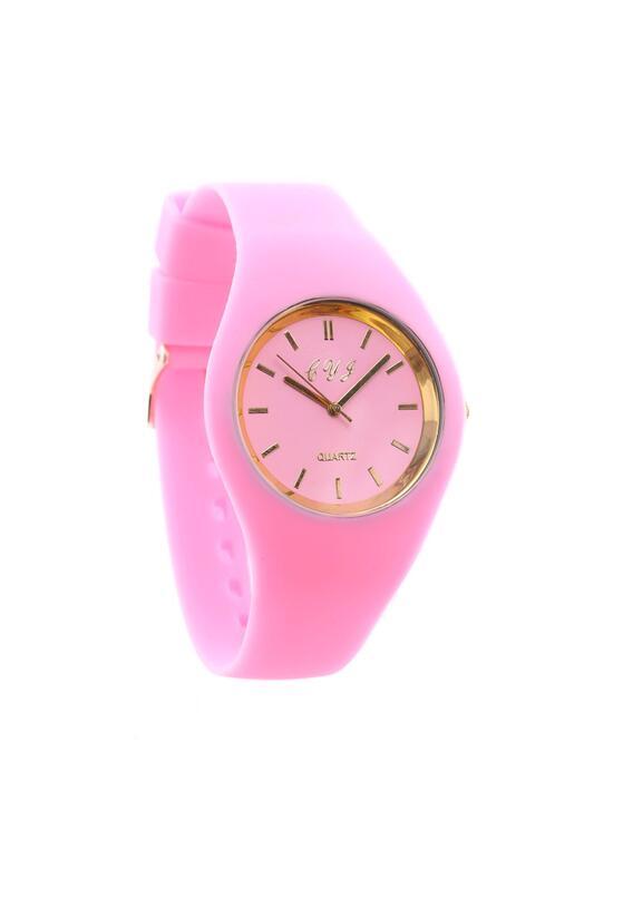 Różowo-Złoty Zegarek Old Time