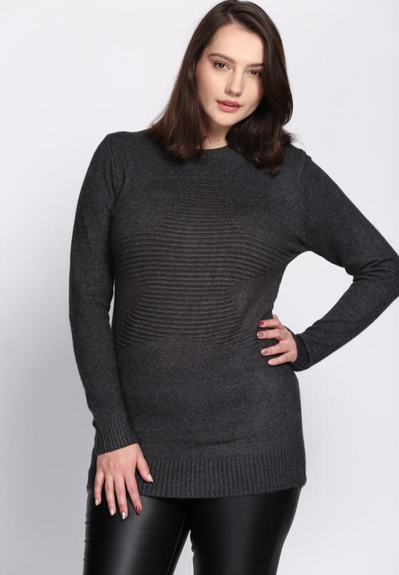 Ciemnoszary Sweter All Round