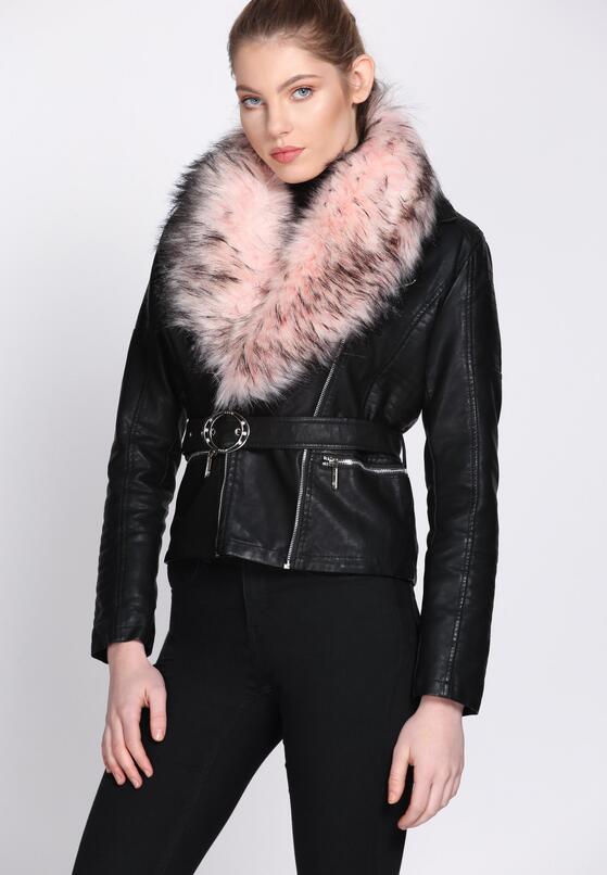 Czarno-Różowa Ramoneska Noteworthy